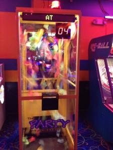Prize Cube at Roller Kingdom