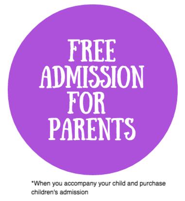 Parent Admission is Free