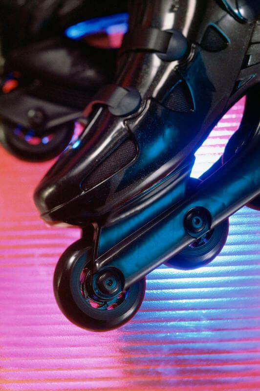 Roller skating lessons